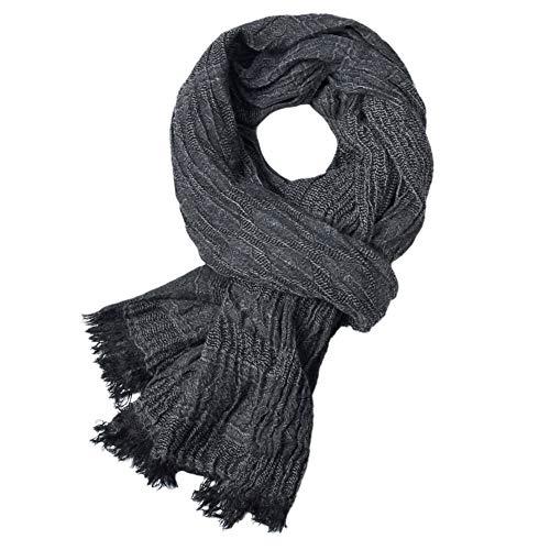 Gysad Diseño simple Bufandas hombre Suave cómodo