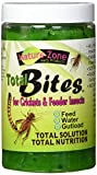 Nature Zone Cricket Total Bites Spirulina Nutritious Complete Diet Food 9 oz