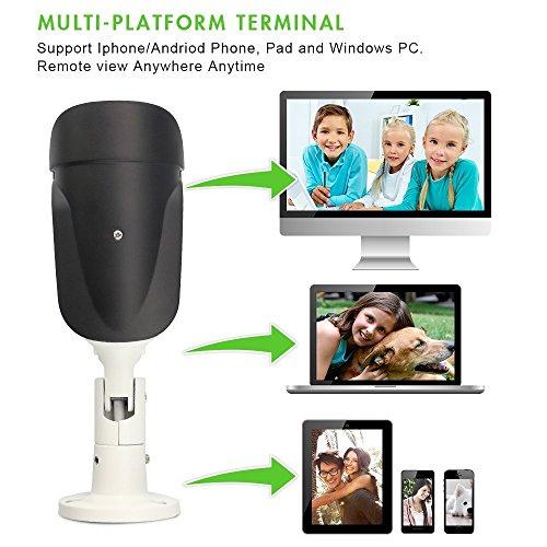 SV3C 1080P PoE IP Kamera/HD Sicherheitskamera für Außen/IP Überwachungskamera/IP cam mit LAN & PoE 802.3af für Outdoor - 6