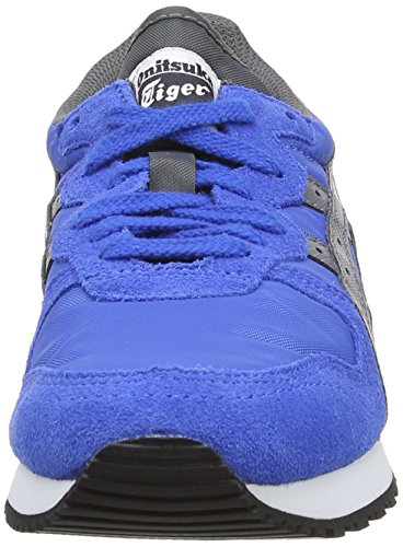 Onitsuka Tiger Oc Runner, Unisex-Erwachsene Outdoor Fitnessschuhe Blau (Navy/Flash Yellow/Hot Pink 4907)