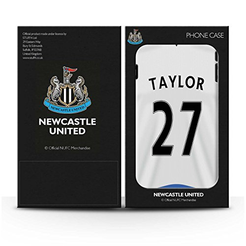 Offiziell Newcastle United FC Hülle / Matte Snap-On Case für Apple iPhone SE / Pack 29pcs Muster / NUFC Trikot Home 15/16 Kollektion Taylor