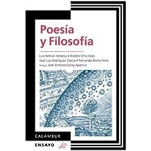 Poesía Y Filosofía: Volume 9 (Calambur Ensayo)