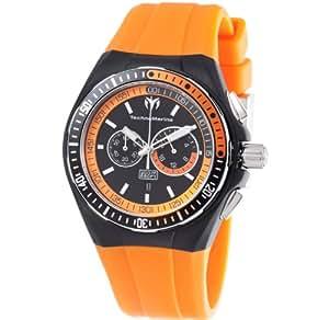 Technomarine Ladies Chronograph Watch 110020 With Orange Strap