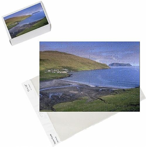 photo-jigsaw-puzzle-of-sandvik-illage-and-bay-litla-dimun-island-in-the-distance-suduroy-island