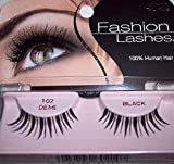 Ardell Fashion Lashes, 102 Demi Black, (Pack of 3) by Ardell