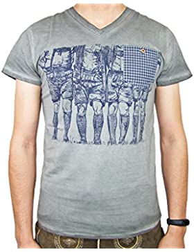 Krüger BUAM T-Shirt Krachlederne - Grau