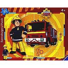 Feuerwehrmann Sam Einsatztafel Feuerwehr Uhr Kinder Holz Tafel Spielzeug Puzzle