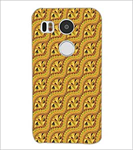 PrintDhaba Pattern D-5137 Back Case Cover for LG NEXUS 5X (Multi-Coloured)
