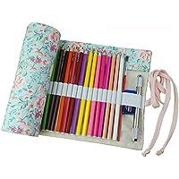 Estuche enrollable de tela Fablcrew, para lápices y otros usos, 36, 48 o 72agujeros 95*21cm 72 Holes