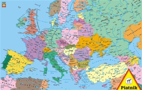 Piatnikl 556241 Europa Landkarte, 1.000 Teile