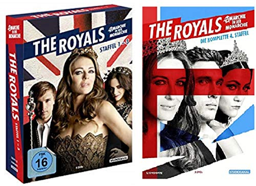 Produktbild The Royals Staffel 1-4 (1+2+3 Box + 4) [DVD Set]
