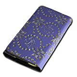 Rhinestone Flip Book-Style Mobile Phone Flip Case Cover for