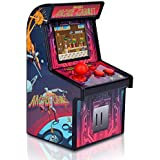 Docooler Mini Arcade Games Retro Tiny Video Game Arcade Cabinet For Kids Portable Electronic Handheld Gaming Console With 200 Classic Games Rose Red