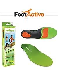 FootActive SPORTS – semelles résistantes aux impacts pour le sport, les loisirs, et le travail 44 - 46 (L)