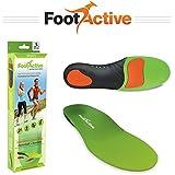 FootActive SPORT - Plantillas de alto impacto para deportes, ocio, trabajo y diversión, talla 36 - 38 (XS)