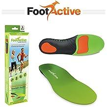 FootActive SPORT - Plantillas de alto impacto para deportes, ocio, trabajo y diversión, talla 42 - 43 (M)