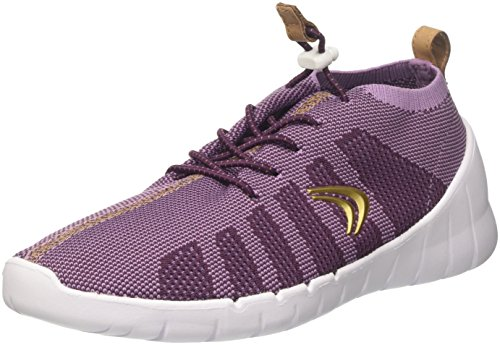 Clarks Sprint Aero., Unisex-Kinder Low-top, Blau (Purple Combi), 26 EU (8.5 UK)