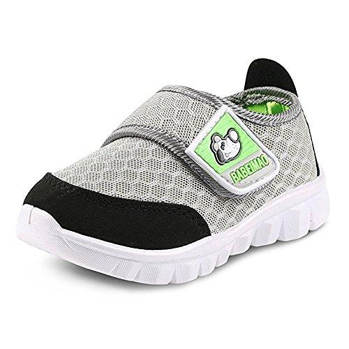 BAINASIQI Unisex Babyschuhe Kinder Sommer Atmungsaktives Mesh Sportschuhe Jungen Mädchen Freizeitschuhe Sneaker Lauflernschuhe Krabbelschuhe mit Weiche Sohle