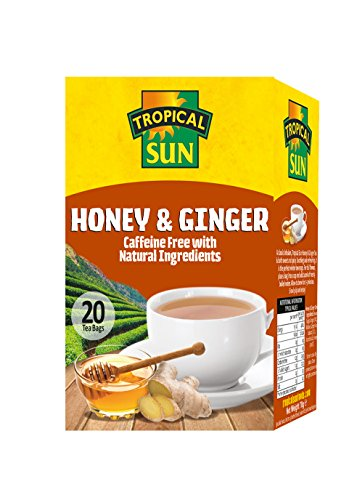 Tropical Sun Honey and Ginger Tea (Pack of 6)