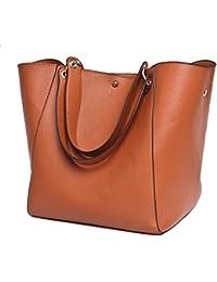 SQLP Bolso Monedero bolso femenino de la nueva manera sencilla grandes de las mujeres del bolso del bolso solteros mensajero del bolso de la mujer
