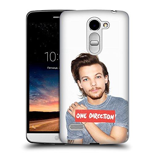 Offizielle One Direction Graue Tshirt Foto Louis Tomlinson Ruckseite Hülle für LG Ray / Zone