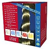 Konstsmide 3046-500 LED Lichterschlauch 6m / für Außen (IP44) /  230V Außen / 216 bunte Dioden / transparenter Schlauch