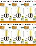 6X Roomlux E27 G45 4W LED filamento Ball Bombilla 470 lúmenes 2700K blanco cálido ,bombillas led, bombilla led, led bombilla, bombilla led e27,bombillas led e27
