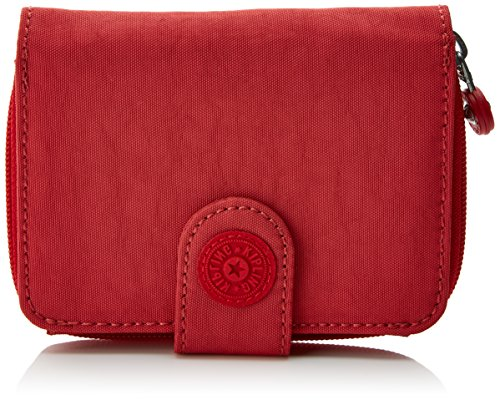 Kipling New Money, Monedero Mujer, Rojo Spicy Red