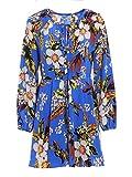 Diane Von Furstenberg Damen 11691Blncb Blau Viskose Kleid