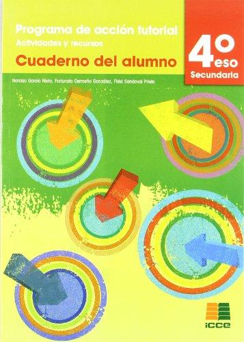 Tutorías, programa de acción tutorial, actividades y recursos, 4 ESO. Cuaderno
