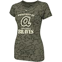 Atlanta Braves Womens Majestic Cooperstown