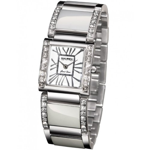Haurex Italy XS348DW1 Womens Grand Dame White Dial Watch
