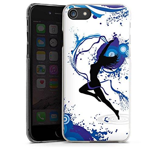 Apple iPhone X Silikon Hülle Case Schutzhülle Tanzen Dance Weiblich Hard Case transparent
