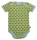 loud + proud 201 - Body para bebé, color verde (moos), talla 74/80