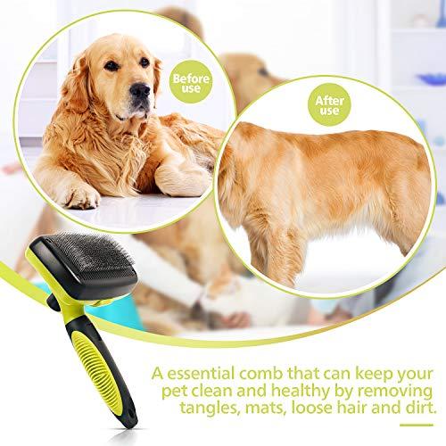 Zoom IMG-1 pecute spazzola autopulente per cani