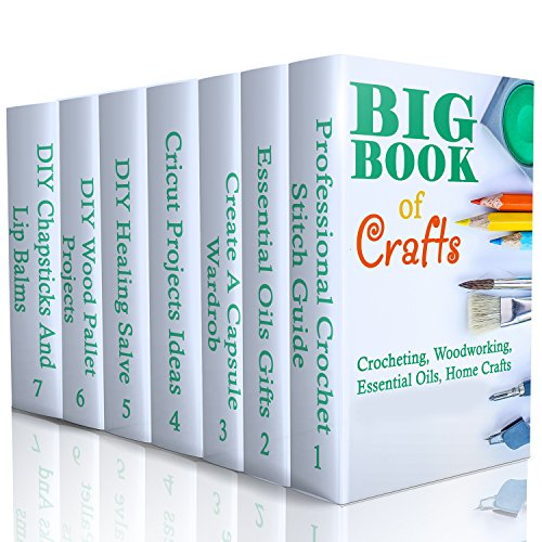 big-book-of-crafts-crocheting-woodworking-essential-oils-home-crafts-diy-household-hacks-diy-cleanin