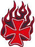 Eiserne Kreuz Aufnäher Bügelbild