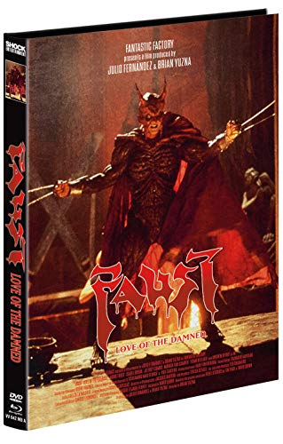 Faust - Love of the Damned - 2-Disc Mediabook - Cover A - Limitiert auf 666 Stück (+ DVD) [Blu-ray]