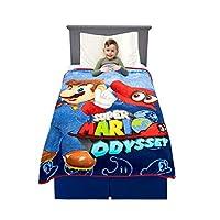 """غطاء سرير للاطفال من فرانكو مصنوع من الالياف الدقيقة الفاخرة فائقة النعومة 46"""" x 60"""" A35618"""