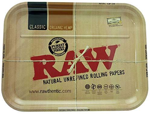 RAW Metal Rolling Tray (XXL 38.5 x 50.5 cm) Metal Tray