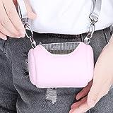 Yinew Pet Tasche Tragbar Schulter Tasche Hamster Ratten Igel Chinchilla Frettchen Carrier Tasche für Kleine Tiere, Flanell, Rose, Siehe Produktbeschreibung