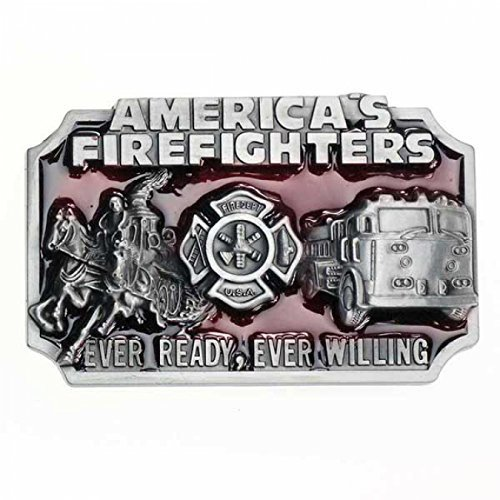 Buckle Feuerwehr, America's Firefighter, - Gürtelschnalle Firefighter