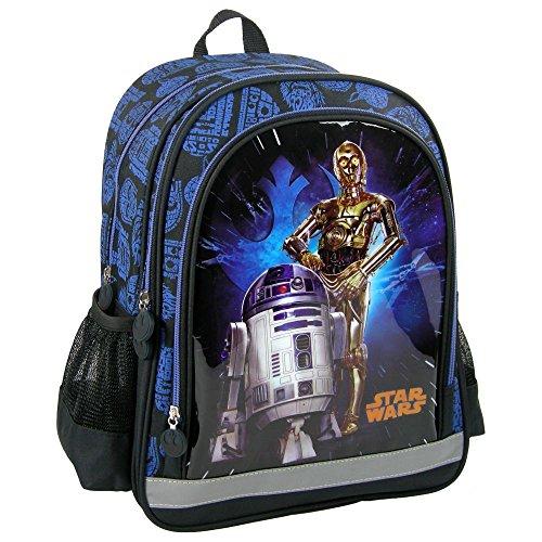 Star Wars R2D2 et C3PO grand sac a dos cartable école loisirs extrascolaires sport
