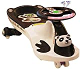 #3: Akshat New Design Panda Car White & Black for Kids Panda car Panda car for Kids Panda car for Kids for 5+ Years Magic Panda car Baby Panda car
