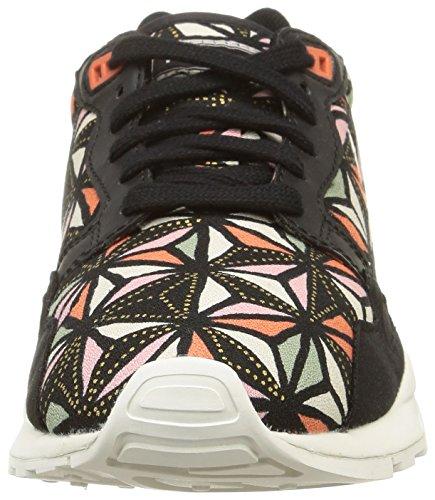 Le Coq Sportif - Lcs R900, Sneaker Donna Nero (Noir (Black/Flamingo/Graphic))