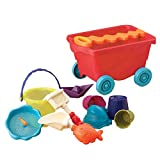 B. Toys 44224 - Travel Beach Wagon, tomato