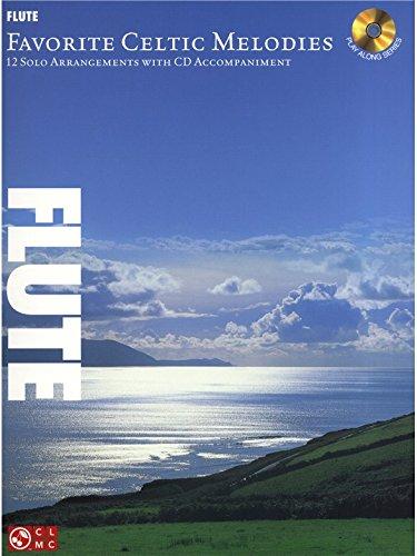 Favourite Celtic Melodies For Flute. Partitions, CD pour Flûte Traversière