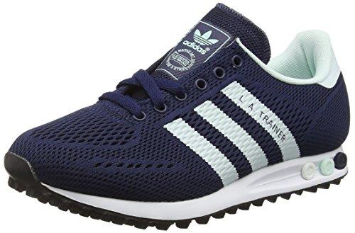 Adidas la Trainer Em, Scarpe da Ginnastica Basse Unisex - Adulto, Blu (Collegiate Navy/Ice Mint/Ftwr White), 42 EU