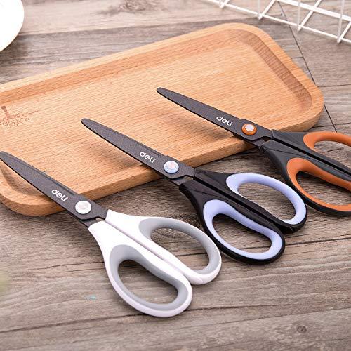 Jingbo Leistungs Hochwertige Fluor Edelstahl Schere 6055 6 Zoll Schneiderei Industrie Home Office Schreibwaren Papier-Cut Messer (Schärfer Clippers)