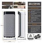 Brandson-Termoventilatore-con-telecomando-Riscaldatore-ceramico-rapido-con-funzione-di-oscillazione-2x-livelli-di-riscaldamento-Timer-Protezione-contro-il-surriscaldamento-2000W-Silence